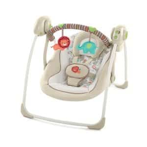 Ingenuity Cozy Kingdom Baby Portable Swing