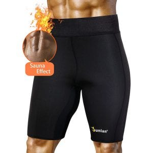 Junlan Men's Neoprene Athletic Sauna Thermo Pants