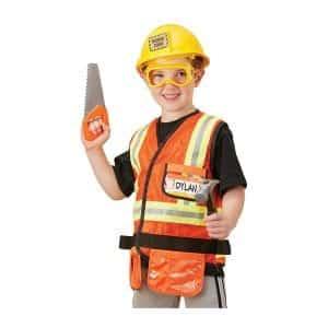 Melissa & Doug Role-Play Construction Costume Set