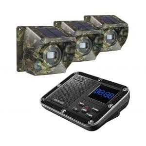 Wuloo Solar Driveway Wireless 1800Ft Range Alarm System