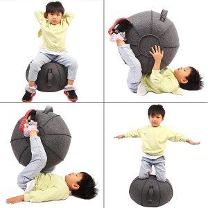 Exercise Stability Yoga Ball Premium Ergonomic Chair