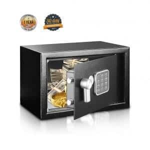 SereneLife SLSFE14 Safe and Lock Box