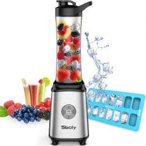 Slowly Personal 300W Smoothie Blender 20 Oz