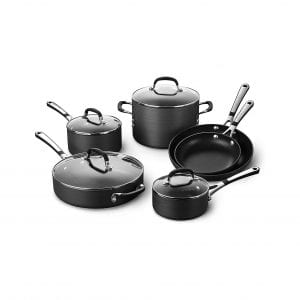 Calphalon 10 piece Pots and Pans Nonstick Cookware Set