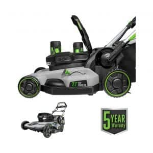 EGO Power+ 21 Inches 56V 5.0Ah Lithium-Ion Battery Dual Port Cordless Lawn Mower