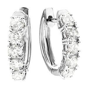 Houston Diamond Earrings