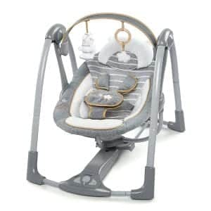 Ingenuity Boutique Collection Bella Teddy Swing 'n Go Baby Swing