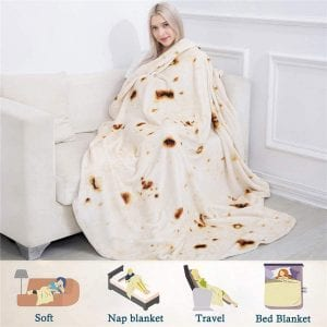 Jorbest Burritos Blanket