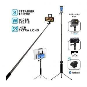 MFW Bluetooth GoPro Selfie Stick