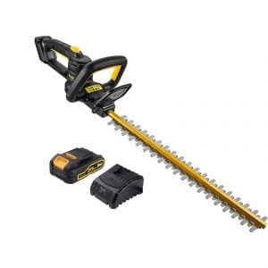TECCPO Cordless Hedge Trimmer 20V 2.0Ah 20 Inches ¾ Inches Cutting Capacity