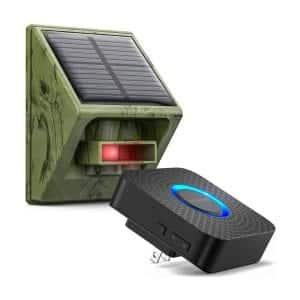 Easyreen 58 Chimes 650Ft Long Range Outdoor PIR Motion Sensor Alarm System