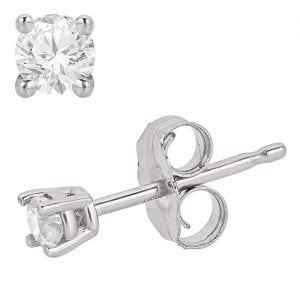 Eleganti Diamond Stud Earrings