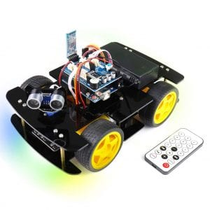 Freenove-Arduino-IDE-Compatible-4WD-Robotic-Car-Kit