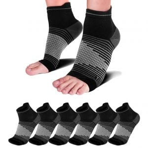 Paplus Ankle Compression Sleeves for Heel Support