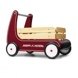 Radio Flyer 612s Walker Wagon, Classic Toddler Toy, Red