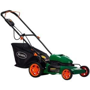 Scotts Outdoor Power Tools 20 Inches 12-Amp Cordless Lawn Mower