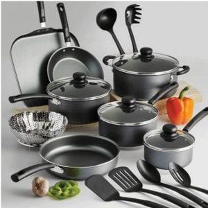 Unbranded 18 Piece Nonstick Pans & Pots Cookware Set