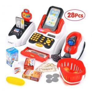 Victostar Toy Cash Register for Kids
