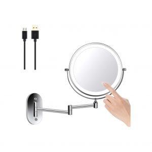 ZEPHBRA Wall Mounted Makeup Mirror