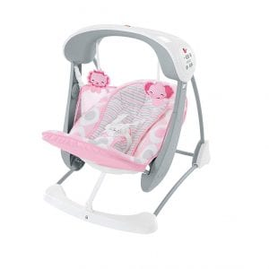 Fisher-Price Deluxe Take-Along Baby Swing