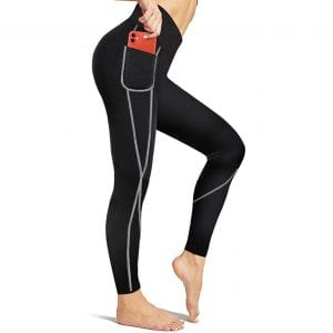 Irisnaya High Waist Compression Sauna Pants for Women
