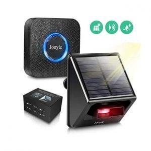 Jooyle Solar Driveway IP55 58 Chimes Alarm System