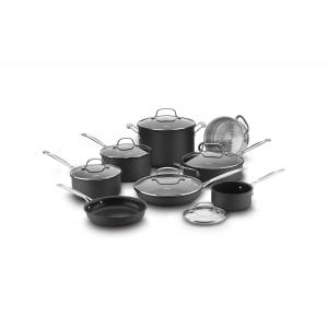 Cuisinart Classic 14 Piece Non-Stick Anodized Cookware Set