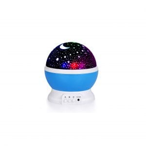 Kids Star Night Light 360 Degrees Rotating Star Projector