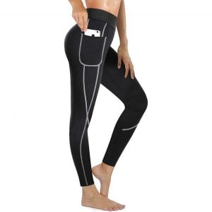 Rolewpy Women Weight Loss Neoprene Sauna Pants