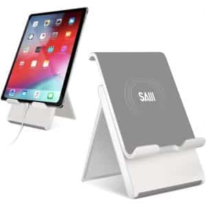 SAIJI Adjustable Tablet Stand - Black