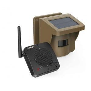 TOGUARD Solar Wireless IP66 Driveway Alarm System