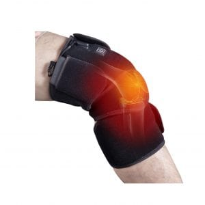 ZLTFashion Heated Knee Brace Wrap 7.4V Li-Po Battery