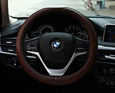 Leather Steering Wheel Wraps