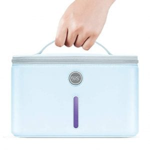 59S UV Light Disinfection Lamp Sanitizer Bag Kills 99.9% of Bacteria Germs and Viruses