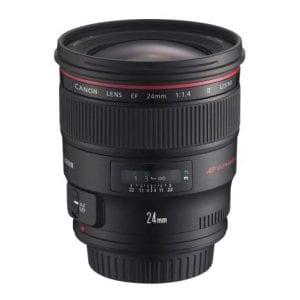 Canon 2750B002 f/1.4L II EF 24mm USM Wide Angle Lens