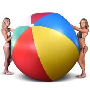GoFloats 6ft Giant Inflatable Beach Ball