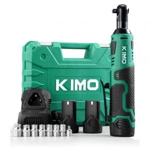K I M O Cordless Electric Power Ratchet Wrench