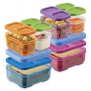 Rubbermaid LunchBlox Kids Snack Containers