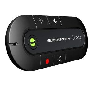 SuperTooth Buddy Bluetooth Speakerphone Car Black kit