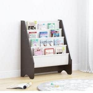 UTEX Kids Sling Bookcase, White