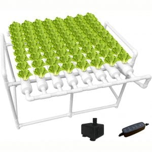 Hydroponics Grow Systems Buying Guide Number of Holes The products are equipped with variable numbers of growing holes to get what will serve you better. For instance, you will find products that have 70 holes while other units have 108 holes. Because of this, find a unit that will suit what you wish to grow. Material Built Secondly, get a product crafted using the best quality of material to serve longer. Find products built using quality PVC-U materials or food-grade PP plastic to bring about extended longevity. Such a product ensures longer lifespan and safety of the plants. Design and Versatility The products are available in various designs to get a unit that will suit you better. Find a product that has a simple compact design for most spaces. Besides this, the product should be highly versatile to grow flowers, herbs, or vegetables.