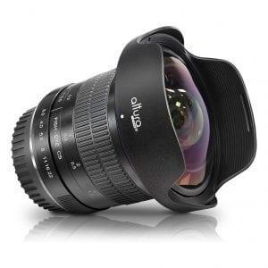 Altura Photo f/3.0 8mm Professional Ultra Aperture Control for Canon