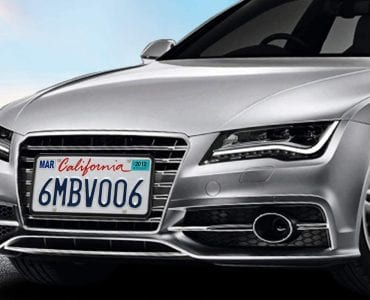 Silicone License Plate Frames