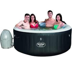 Bestway SaluSpa Miami 4-Person AirJet Spa Inflatable Hot Tub