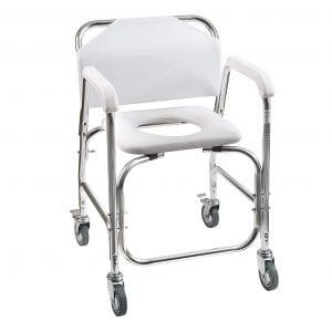 DMI Rolling Shower Wheelchair