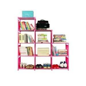 Jukert DIY Adjustable Bookcase 9 Cubes