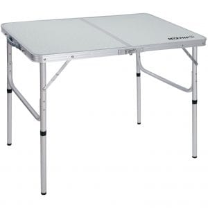 REDCAMP Aluminum Camping Table for Outdoor and Indoor Use, White