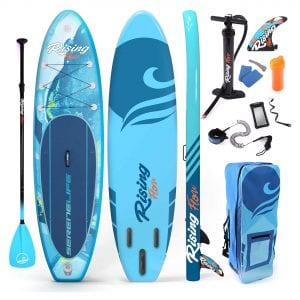 SereneLife Inflatable SUP Board