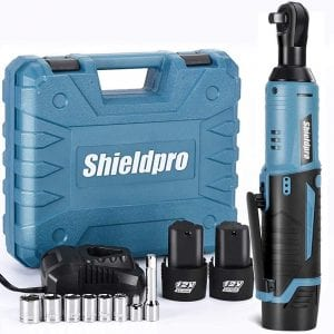 Shieldpro Cordless Electric Power Ratchet Wrench