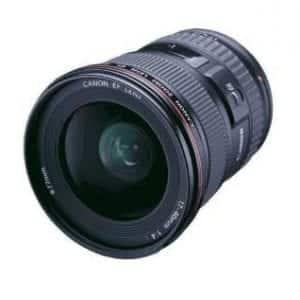Canon f/4L USM EF 17-40mm Ultra Wide SLR Cameras Angle Zoom Lens